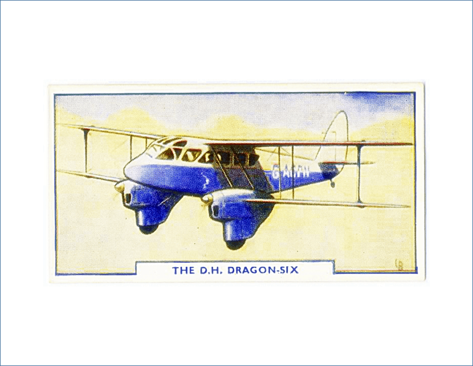 Free Printable Vintage Plane Art- Series 1