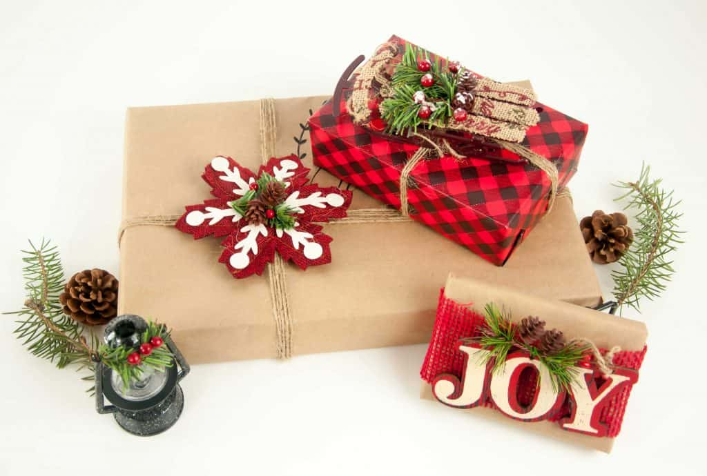 Gift Wrapping with Dollar Tree Supplies