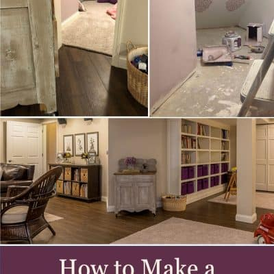 How to Make a Secret Room Under the Stairs